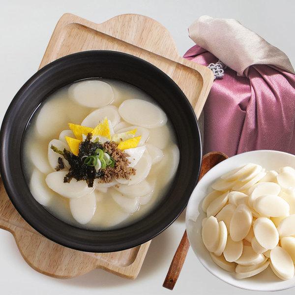 순수당 국내산쌀100% 순쌀떡국떡 1kg+1kg /명절/떡