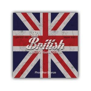 브리티시 기타스트링 통기타줄 세트 BS012 (012-053)