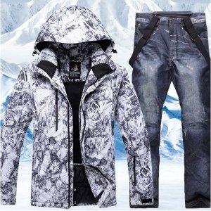 스키보드복 자켓바지세트 DHX3 겨울 방한방수 낚시복