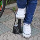 컴팩트 자전거 에어펌프 1+1