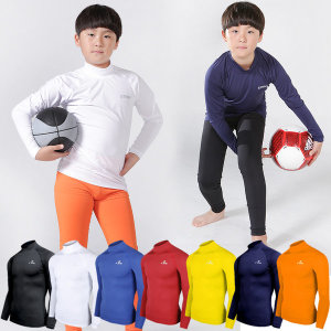 유소년 축구 베이스 반목폴라 기능성이너웨어 운동복