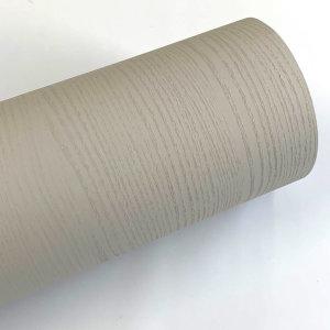 웜그레이 페인티드우드 단색 무늬목 시트지 HPW-703