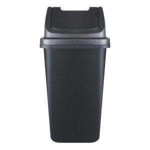 코지 종량제 사각 100L 분리수거함 쓰레기통 (블랙)