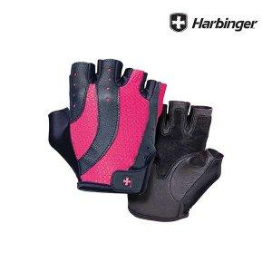 하빈져프로 글러브 블랙/핑크 여성용