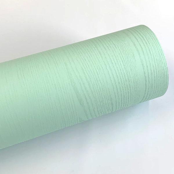 민트 페인티드우드 단색 무늬목 시트지 HPW-712