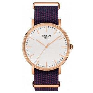 티쏘 TISSOT T-CLASSIC T109.410.38.031.00 남성시계 페브릭