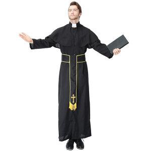 사제복 목사복 할로윈 코스프레 파티 의상 용품