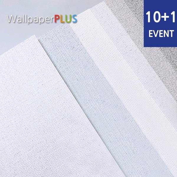 10+1 단색포인트벽지/풀바른장폭합지벽지/광폭도배지