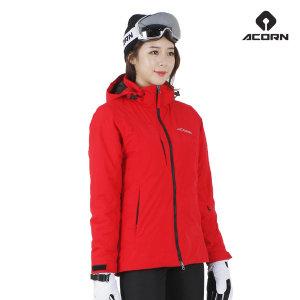 에이콘 골드 스키복 보드복 자켓 여성용 레드
