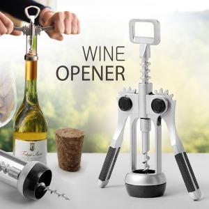 스텐휠 와인오프너/와인따개 코르크 병따개 와인용품