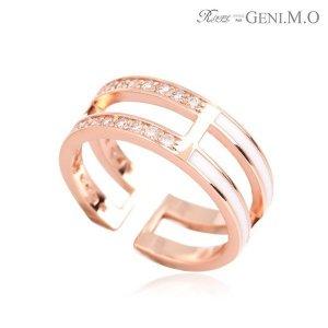 지니엠오 18k시리즈 반지 Gold plating 18k0148