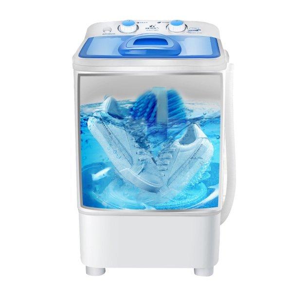 미니 자동 운동화 세척기 신발 세탁기 브러쉬