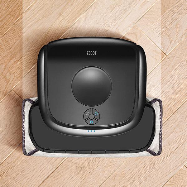 제봇 물걸레 로봇청소기 DKZ-200 GPS+걸레2종 포함