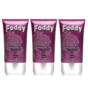 패디 FADDY Molding Clay Ultimate Hair Wax 120g 3개
