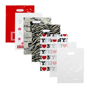 PE 양장지봉투 펜시봉투 비닐쇼핑백 250X350/200매