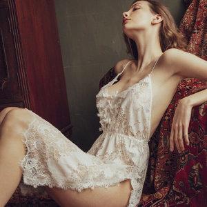 섹시 슬립 원피스 란제리 야한 허니문잠옷 이벤트속옷