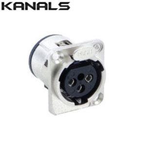 XLR 캐논(암) 마이크연결커넥터 짹 단자 (1개) 3FW