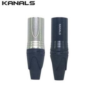 XLR 캐논(수) 마이크연결커넥터 짹 단자 (1개) 304MW