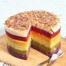 힐링펫 강아지케이크 레인보우 CAKE