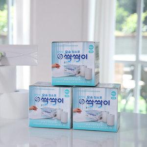 점착식 요술청소포 싹싹이 3팩 (180매) /정전기청소포