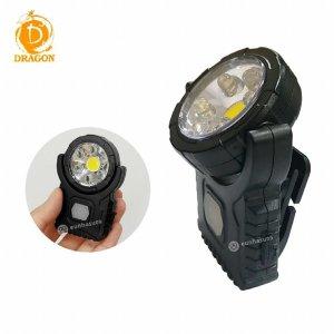 LED 라이트 손전등 HW-016 벨트클립 미니 충전후레쉬