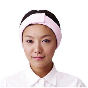 요들가운 머리띠 헤어밴드(1개당) 미용실 퍼머전용