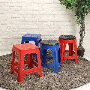 리빙패밀리 야외용의자 플라스틱 의자 회전의자