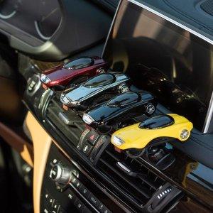 스포츠카 차량용 방향제 휴대폰거치대 집게형 GT