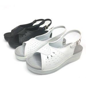 ACE간호샌들 간호사신발 여성슬리퍼 흰색 검정225-255