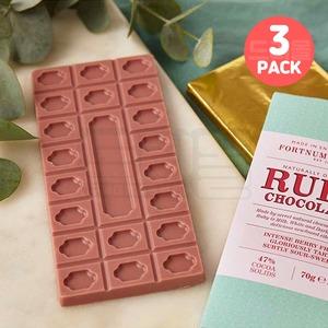 포트넘 앤 메이슨 루비 초콜릿 바 Fortnum Ruby 3팩