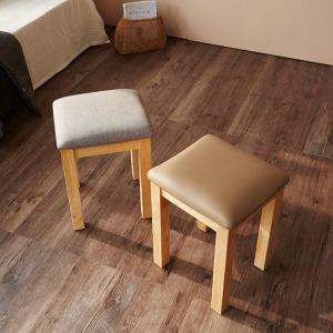 고무나무 원목 화장대 의자