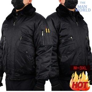 더맨월드  더맨월드  DH겨울시보리항공점퍼 겨울 남자 방한점퍼 등산 자켓
