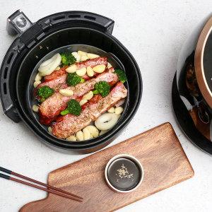 세척쉬운 요리조리팟 에어프라이어 실리콘용기(대형)