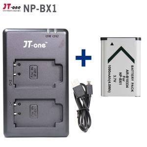 USB듀얼충전기 NP-BX1 호환 +배터리1개 AS100v PJ240e
