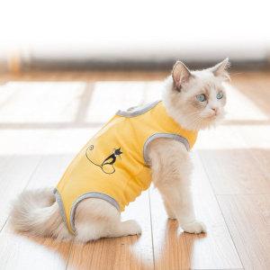 무료배송 고양이 환자복 중성화복 수술복 색상 3종