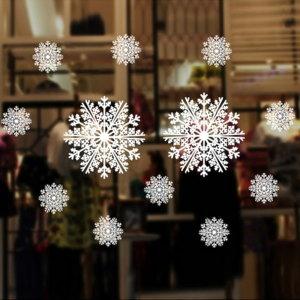 (하비파티)크리스마스 윈도우 스티커 (눈결정 1롤72x5