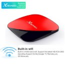 X88 PRO 셋톱박스TV박스 안드로이드9.0 2+16GB 빨강