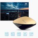 X88 PRO 셋톱박스TV박스 안드로이드9.0 4+64GB 골드