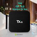 TX6 셋톱박스TV박스 안드로이드9.0 2+16GB 단주파