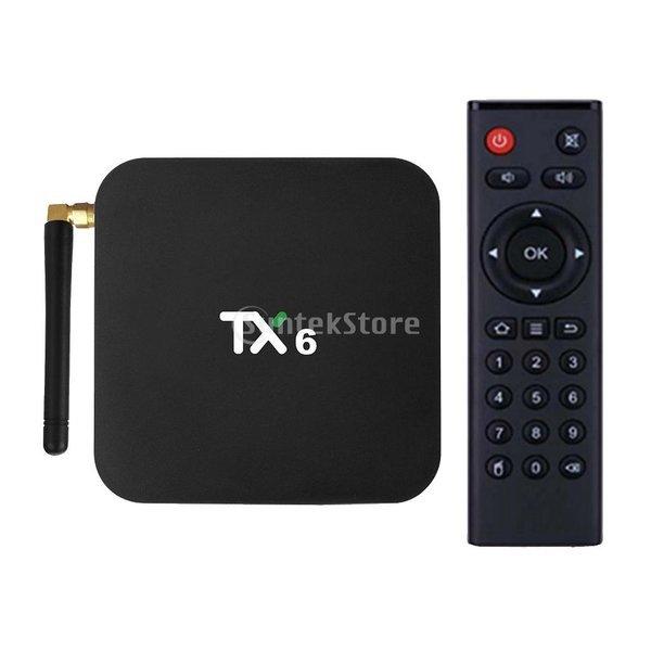 TX6 셋톱박스TV박스 안드로이드9.0 4+64GB 이중주파