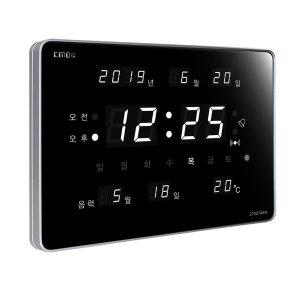 CMOS 시계 KT007A6W 고급형 디지털 벽시계 전자 탁상