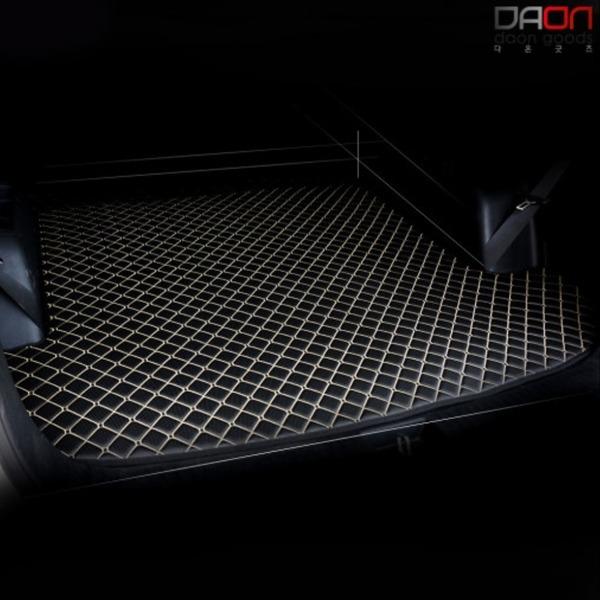 4D 입체퀼팅 현대 G80 가죽트렁크매트
