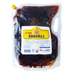 오뚜기 오쉐프 정통탕수육소스 2kg (탕수육소스)