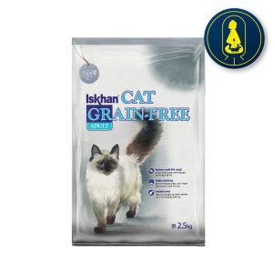 이즈칸캣 그래인프리 어덜트 6.5kg 고양이사료