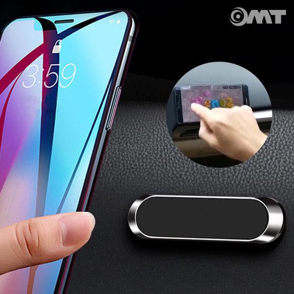 OMT 1초간편 차량용 휴대폰 자석 거치대 OSA-F6