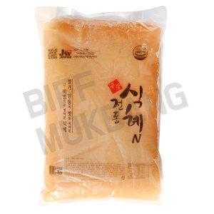 궁중가평식혜 단술 10kg(1팩)전통음료(대용량/업소용)