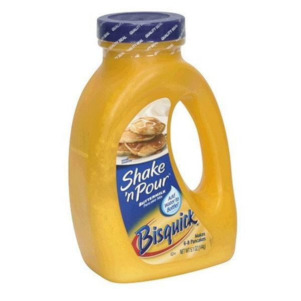 베티크로커 비스퀵 버터밀크 팬케이크 믹스 144g 6팩