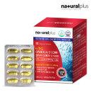 내츄럴플러스 알티지오메가3 비타민D 60캡슐 1박스