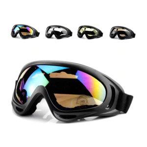 스키 보드 자전거 산업 현장  UV400 안전 고글
