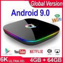 Q+/Q Plus 셋톱박스TV박스 안드로이드9.0 4+64GB